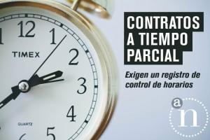 Contrato a Tiempo Parcial. Control fraude, control horarios. Asesoría Nemesio