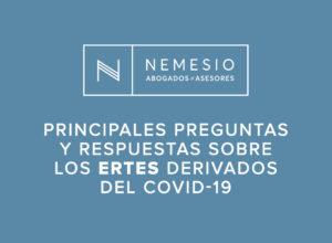 preguntas y respuestas ERTES derivados del coronavirus - Nemesio Abogados y Asesores