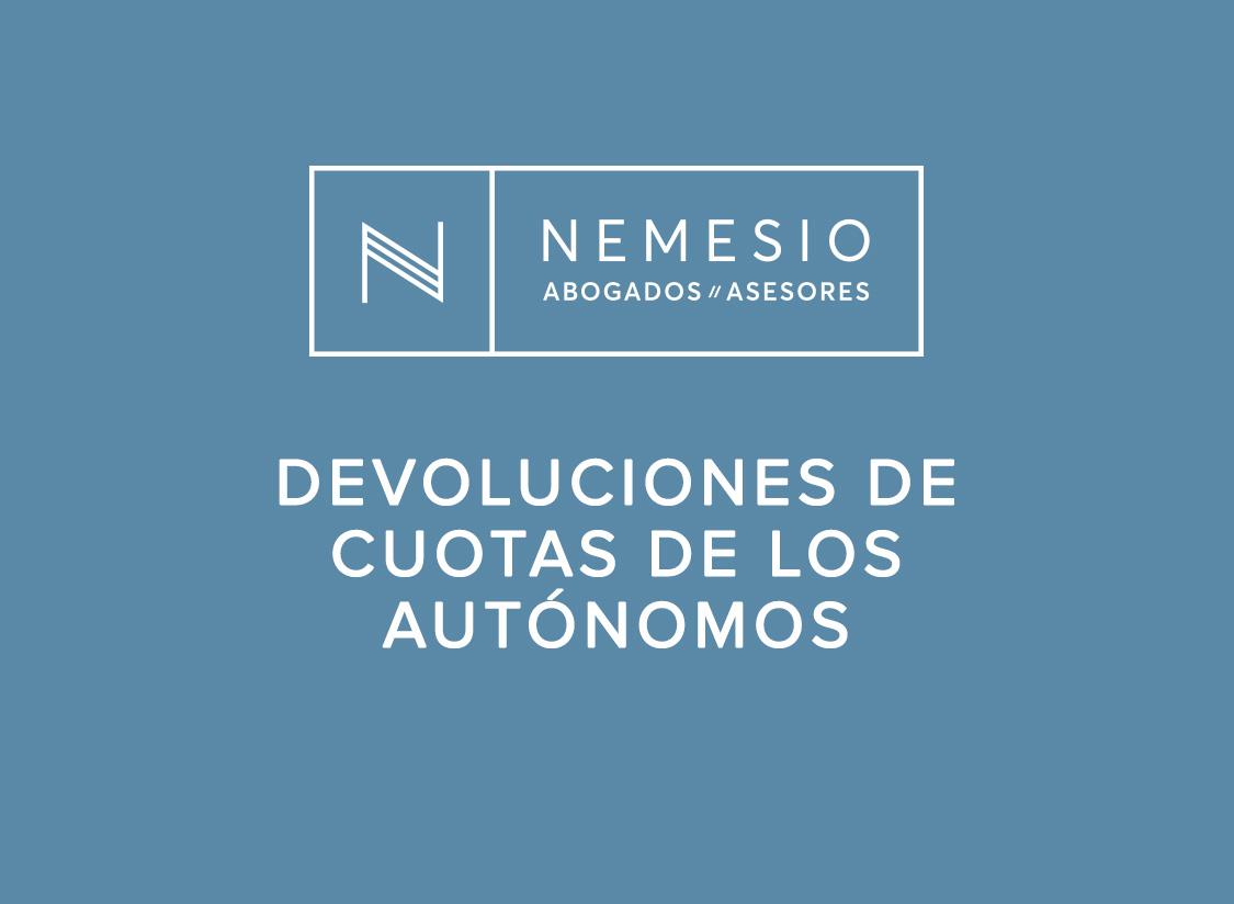 Devoluciones de cuotas de los trabajadores por cuenta propia