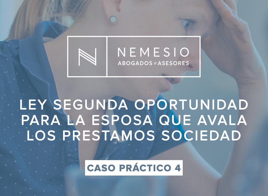 LEY SEGUNDA OPORTUNIDAD NEMESIO ABOGADOS
