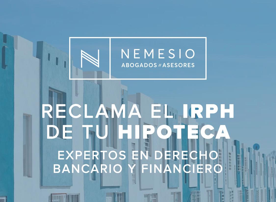 Nemesio Abogados. IRPH Hipotecas