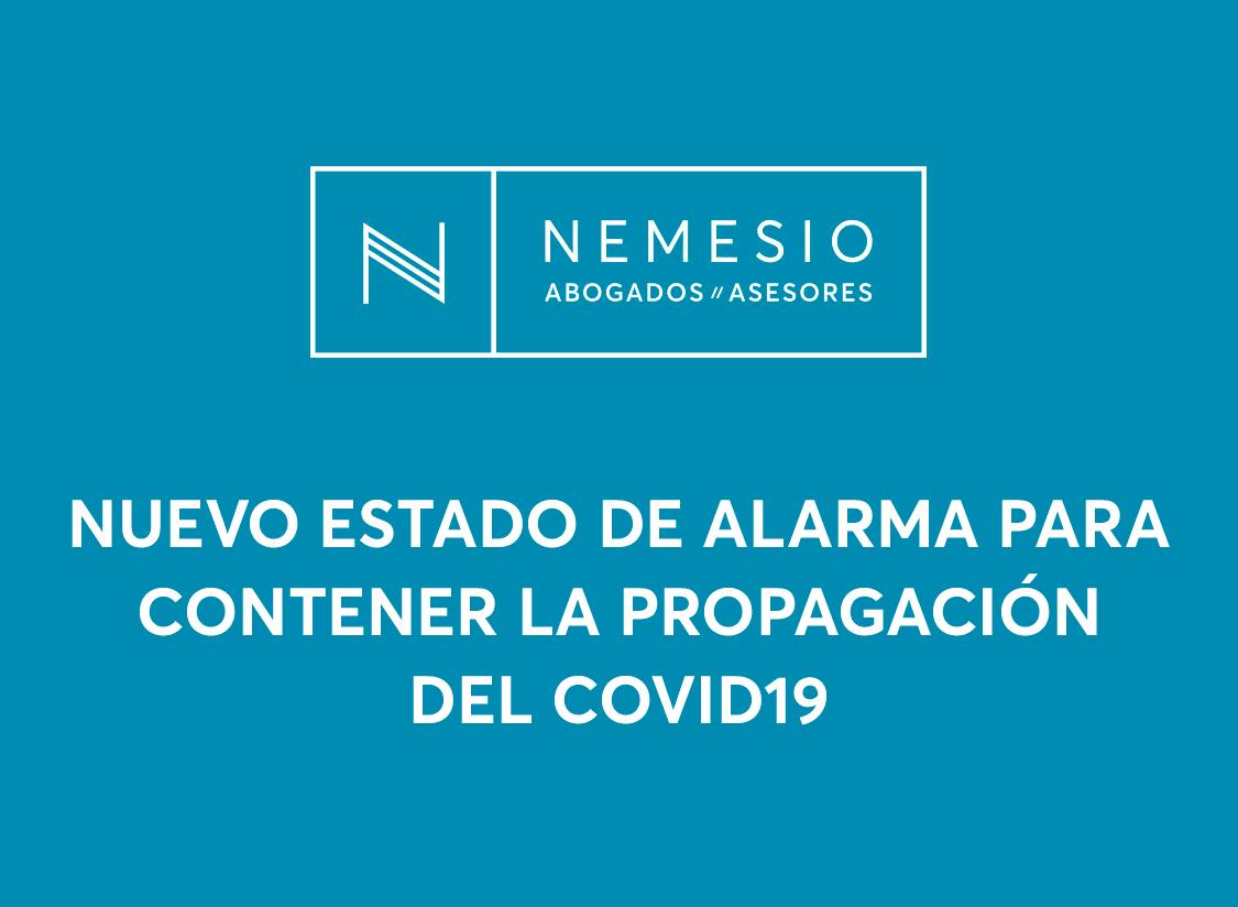 Se declara el estado de alarma para contener la propagación de infecciones causadas por el COVID-19